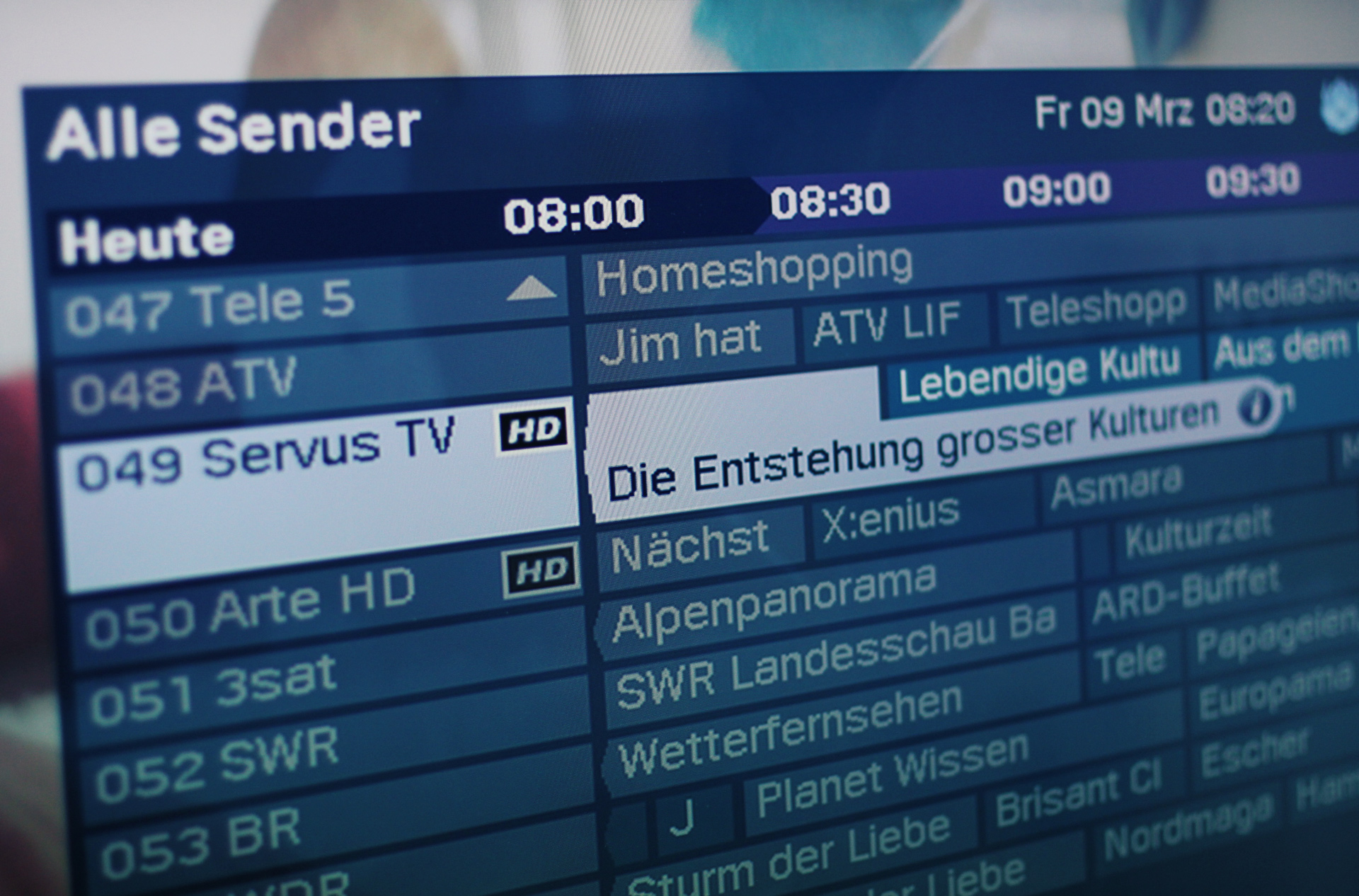 servus tv programm morgen