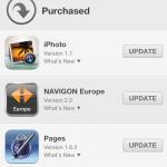Updates im App Store von iOS 6