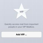 VIP Mailbox in iOS 6