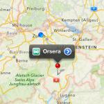 Die neue Karten / Maps App in iOS 6